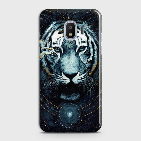 Vintage Galaxy 3D Tiger  Case For Samsung Galaxy J4