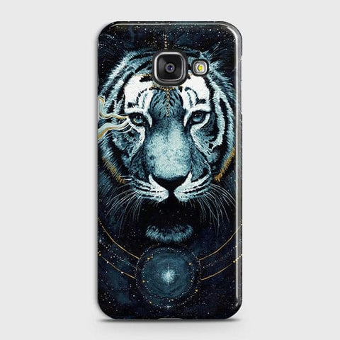 Samsung Galaxy J7 Max Cover - Vintage Galaxy Tiger Printed Hard Case with Life Time Colors Guarantee - OrderNation