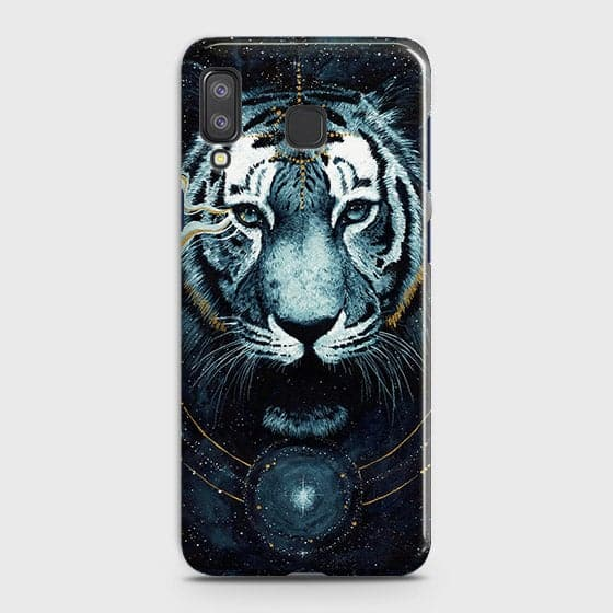 Samsung A8 StarCover - Vintage Galaxy Tiger Printed Hard Case with Life Time Colors Guarantee - OrderNation