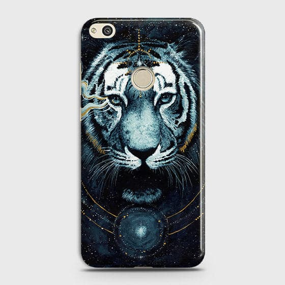 Vintage Galaxy 3D Tiger  Case For Huawei Honor 8 Lite