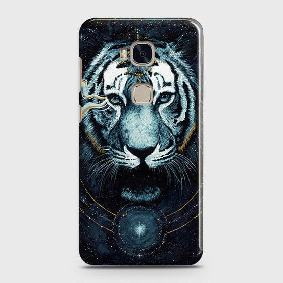 Vintage Galaxy 3D Tiger  Case For Huawei Honor 5X