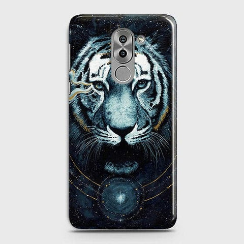 Vintage Galaxy 3D Tiger  Case For Huawei Honor 6X