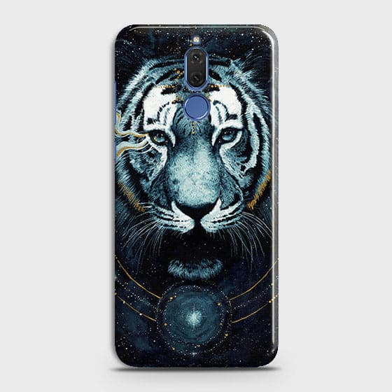 Vintage Galaxy 3D Tiger  Case For Huawei Mate 10 Lite