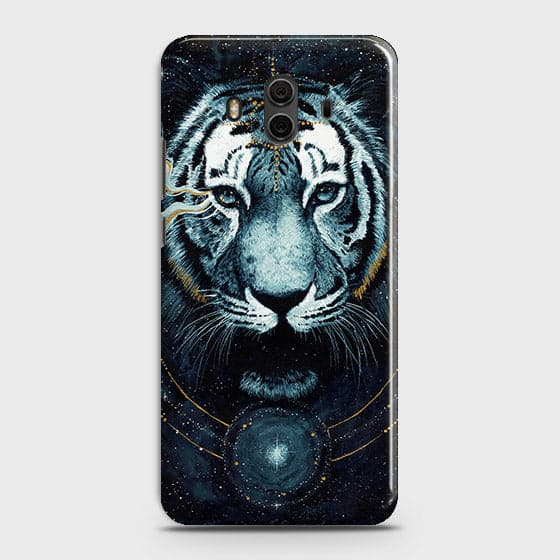 Vintage Galaxy 3D Tiger  Case For Huawei Mate 10