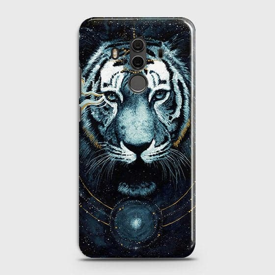 Huawei Mate 10 Pro Cover - Vintage Galaxy Tiger Printed Hard Case with Life Time Colors Guarantee - OrderNation
