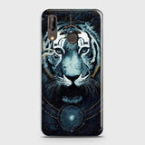 Huawei P20 Cover - Vintage Galaxy Tiger Printed Hard Case with Life Time Colors Guarantee - OrderNation
