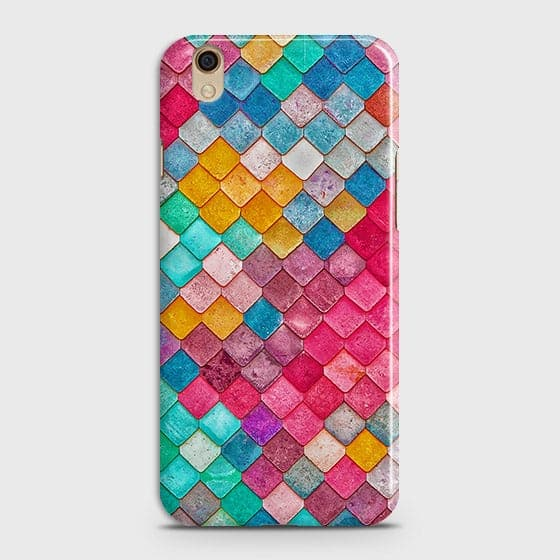 Chic Colorful Mermaid 3D Case For Oppo A37