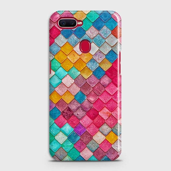 Chic Colorful Mermaid 3D Case For Oppo F9 Pro