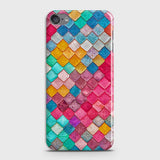 Chic Colorful Mermaid 3D Case For iPod Touch 6