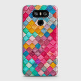 Chic Colorful Mermaid 3D Case For LG G6