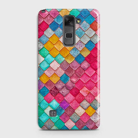 LG Stylus 2 / Stylus 2 Plus / Stylo 2 / Stylo 2 Plus Cover - Chic Colorful Mermaid Printed Hard Case with Life Time Colors Guarantee
