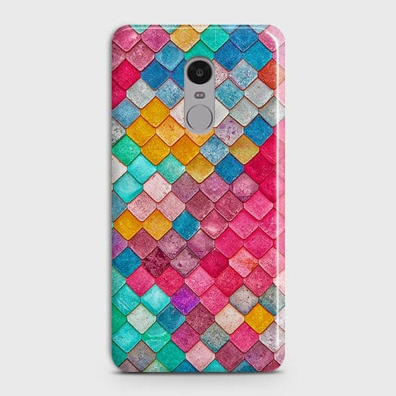 Chic Colorful Mermaid 3D Case For Xiaomi Redmi 4X