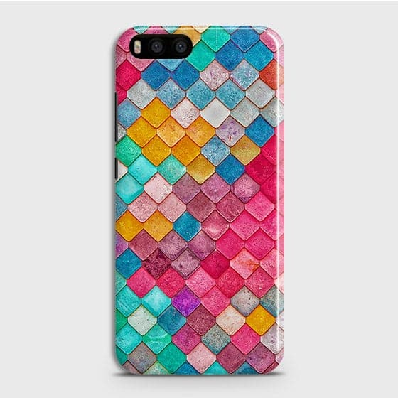 Xiaomi Mi 6Cover - Chic Colorful Mermaid Printed Hard Case with Life Time Colors Guarantee