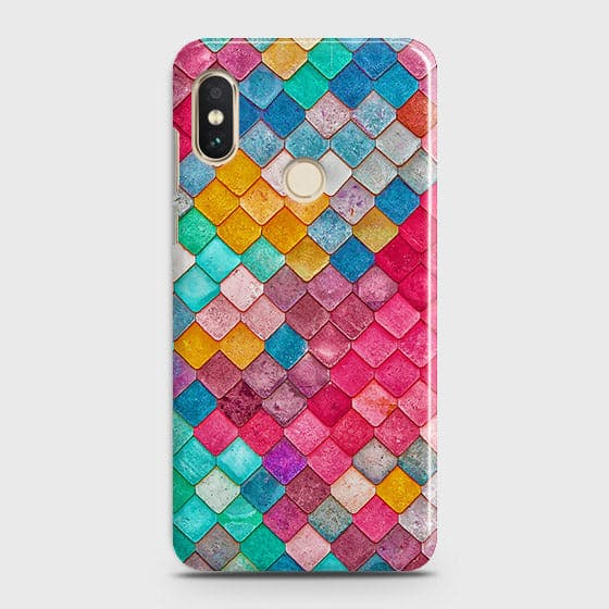 Xiaomi Redmi S2 Cover - Chic Colorful Mermaid Printed Hard Case with Life Time Colors Guarantee