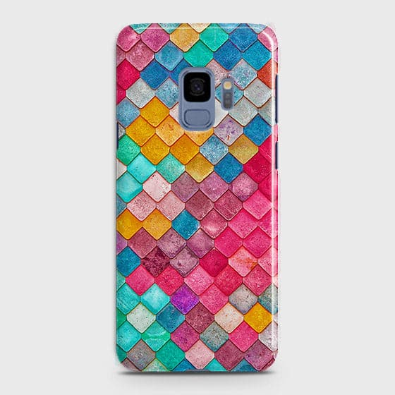 Chic Colorful Mermaid 3D Case For Samsung Galaxy S9