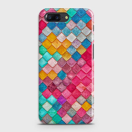 Chic Colorful Mermaid 3D Case For OnePlus 5