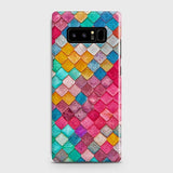 Chic Colorful Mermaid 3D Case For Samsung Galaxy Note 8