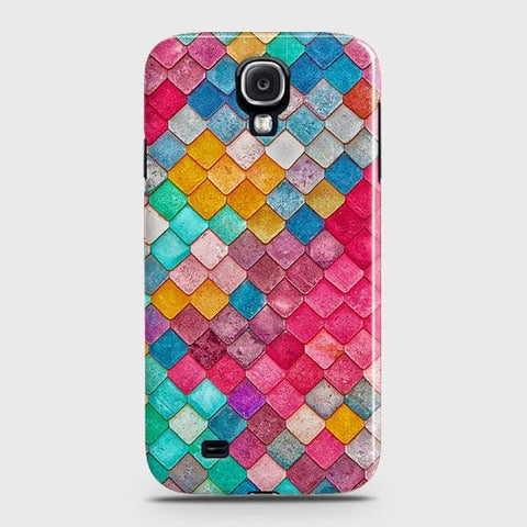 Chic Colorful Mermaid 3D Case For Samsung Galaxy S4