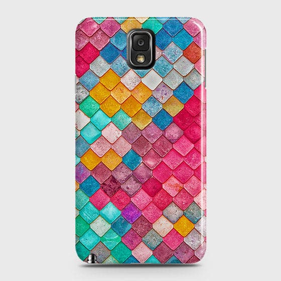 Chic Colorful Mermaid 3D Case For Samsung Galaxy Note 3