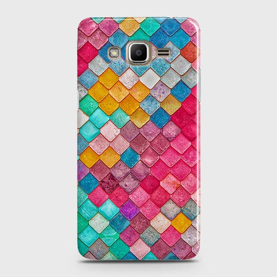 Samsung Galaxy Grand Prime / Grand Prime Plus / J2 Prime Cover - Chic Colorful Mermaid Printed Hard Case with Life Time Colors Guarantee