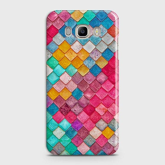 Chic Colorful Mermaid 3D Case For Samsung Galaxy J710
