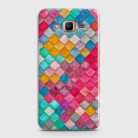 Chic Colorful Mermaid 3D Case For Samsung Galaxy J7