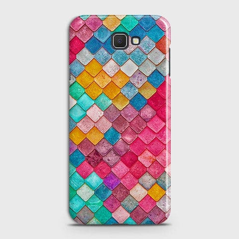 Chic Colorful Mermaid 3D Case For Samsung Galaxy J7 Prime