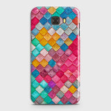Chic Colorful Mermaid 3D Case For Samsung C9 Pro