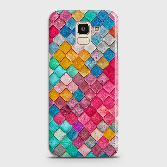 Chic Colorful Mermaid 3D Case For Samsung J6 2018