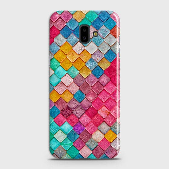 Chic Colorful Mermaid 3D Case For Samsung J6 Plus 2018
