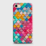 Chic Colorful Mermaid 3D Case For iPhone 7 & iPhone 8