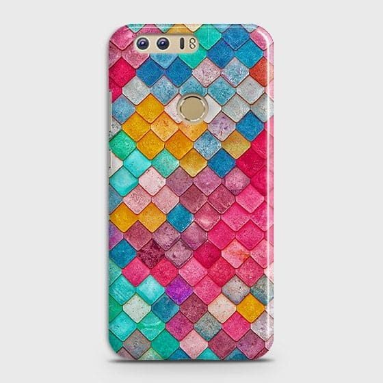 Chic Colorful Mermaid 3D Case For Huawei Honor 8