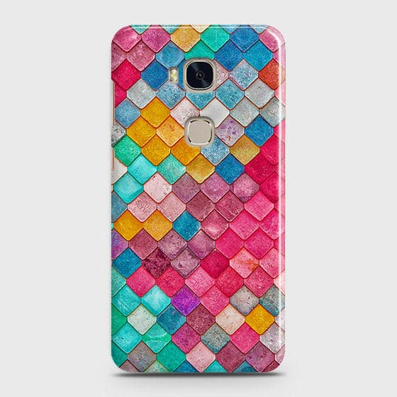 Chic Colorful Mermaid 3D Case For Huawei Honor 5X