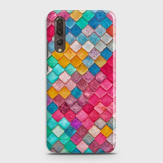 Chic Colorful Mermaid 3D Case For Huawei P20 Pro