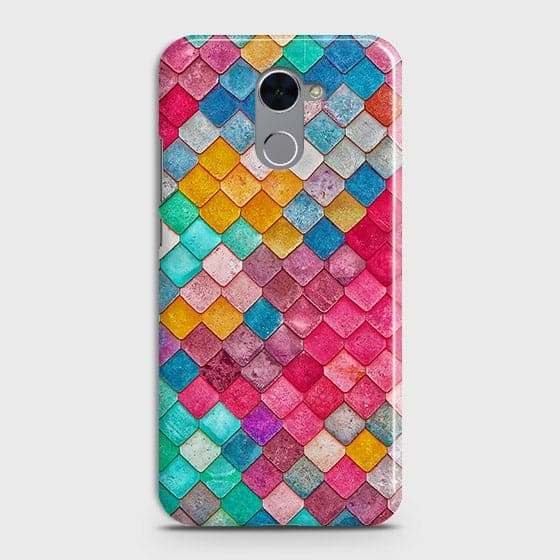 Chic Colorful Mermaid 3D Case For Huawei Y7 Prime
