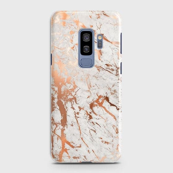 3D Print in Chic Rose Gold Chrome Style Case For Samsung Galaxy S9 Plus