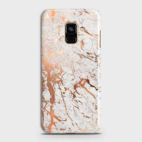 3D Print in Chic Rose Gold Chrome Style Case For Samsung A8 Plus 2018