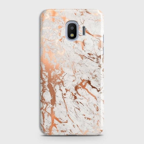 3D Print in Chic Rose Gold Chrome Style Case For Samsung Galaxy J4