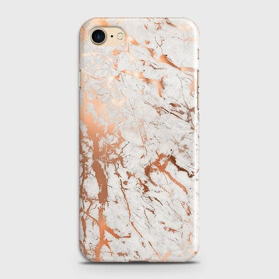3D Print in Chic Rose Gold Chrome Style Case For iPhone 7 & iPhone 8