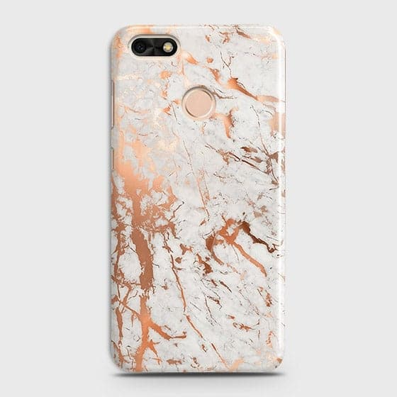 3D Print in Chic Rose Gold Chrome Style Case For Huawei P9 Lite Mini