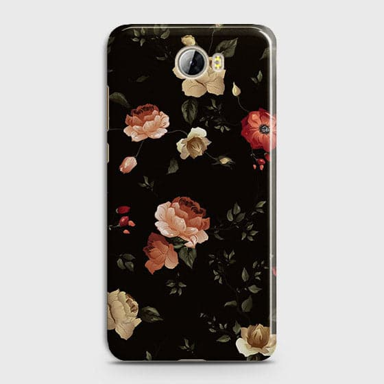 Dark Rose Vintage Flowers 3D Print Case For Huawei Y5 II