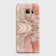 Samsung Galaxy S7 Edge Cover - Trendy Chic Rose Gold Marble Printed Hard Case with Life Time Colors Guarantee