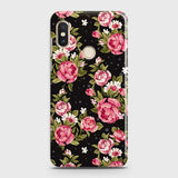 Trendy Pink Rose Vintage Flowers Case For Xiaomi Redmi Y2