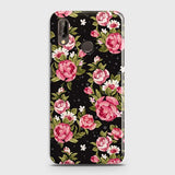 Trendy Pink Rose Vintage Flowers Case For Huawei P20 Lite