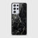 Samsung Galaxy S21 Ultra 5G Cover - Black Marble Series - HQ Ultra Shine Premium Infinity Glass Soft Silicon Borders Case