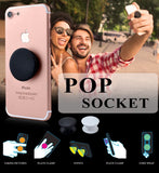 PopSocket - Plain Black or White Color: Get a Grip On Your Phone