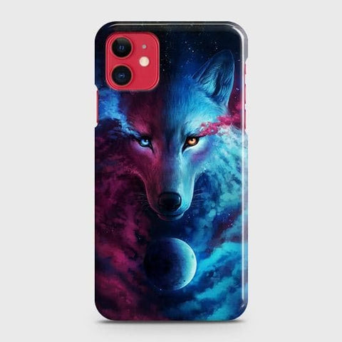 Infinity Wolf 3D Trendy Case For iPhone 11