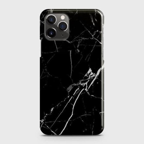 Black Modern Classic Marble Case For iPhone 11 Pro