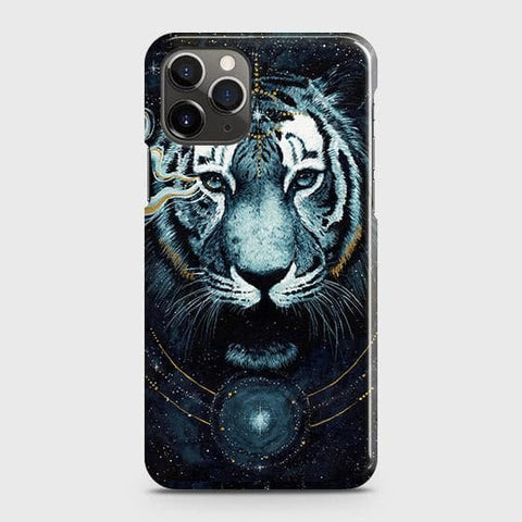 Vintage Galaxy 3D Tiger Case For iPhone 11 Pro Max