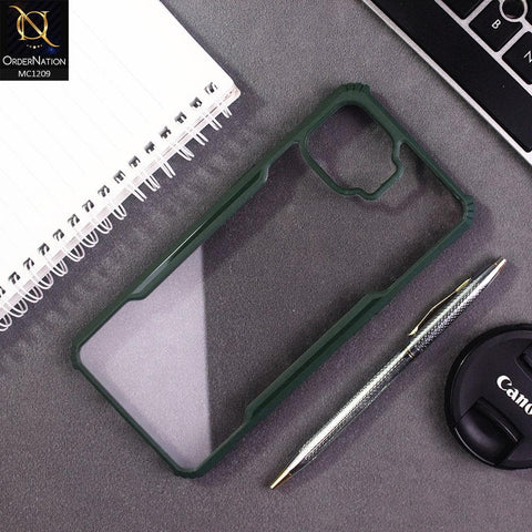 Oppo F17 Cover - Green - Hybrid Tpu Pc Case